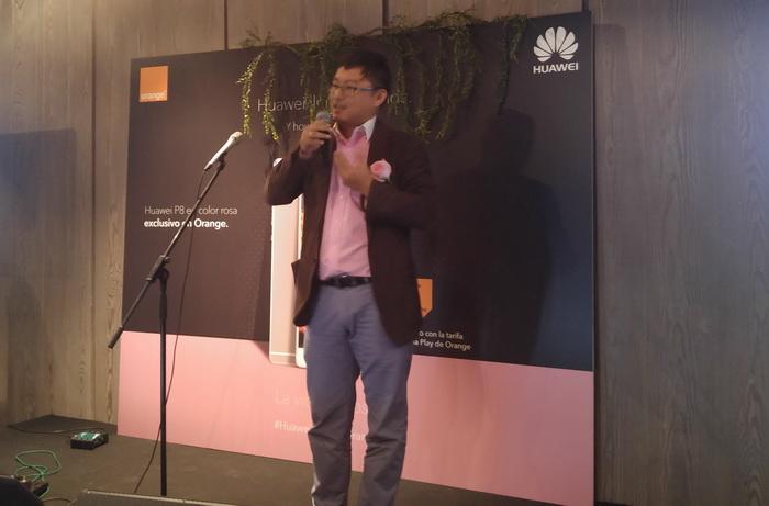 Orange nos trae el Huawei P8 rosa