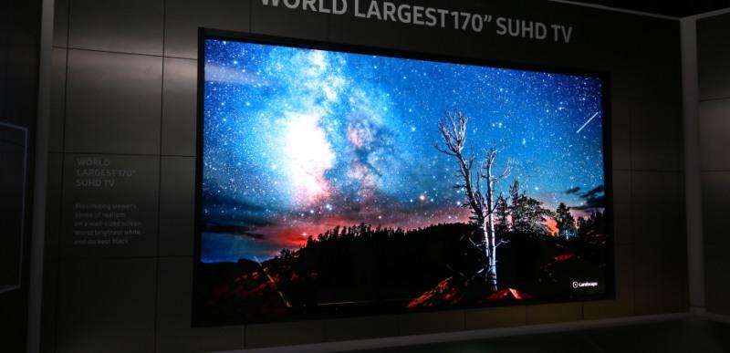 170 inch suhd tv 1 - CES 2016: Samsung