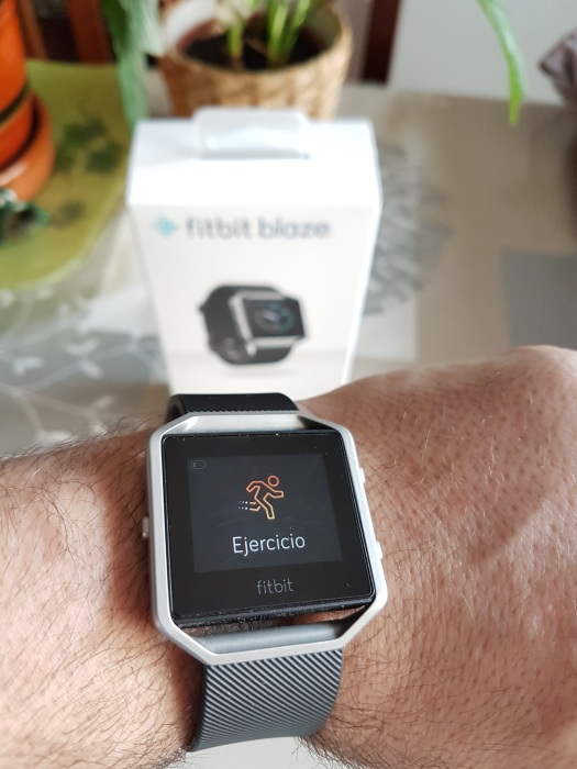Review Fitbit Blaze
