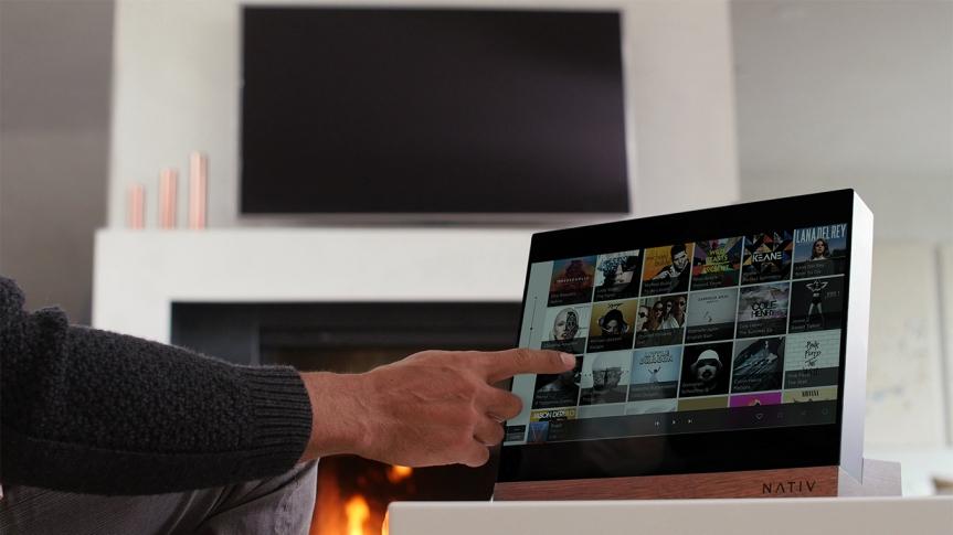 nativ vita high resolution music player touchscreen - Nativ Vita: toda tu música en streaming y alta resolución